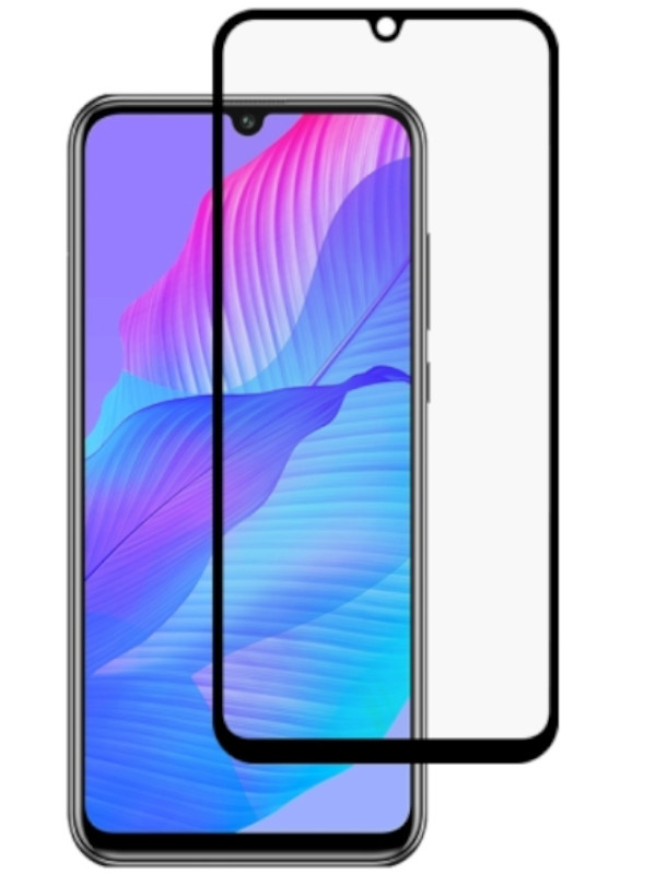 Защитное стекло mObility для Huawei Y8p Full Screen Glue Black УТ000021162
