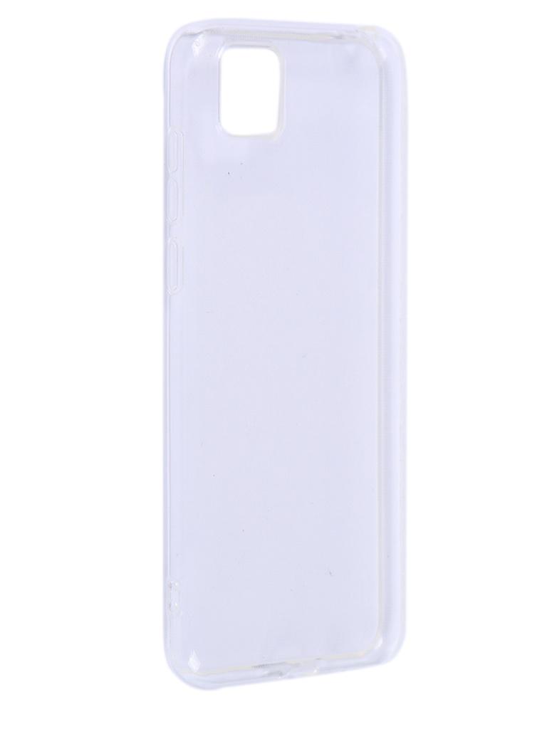 Чехол iBox для Huawei Y5P Crystal Silicone Transparent УТ000021169