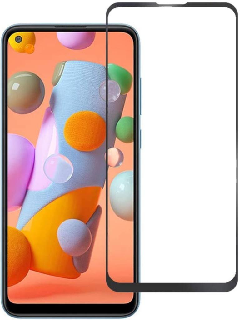 Защитный экран Red Line для Samsung Galaxy M11 Full Screen Tempered Glass Glue Black УТ000021246