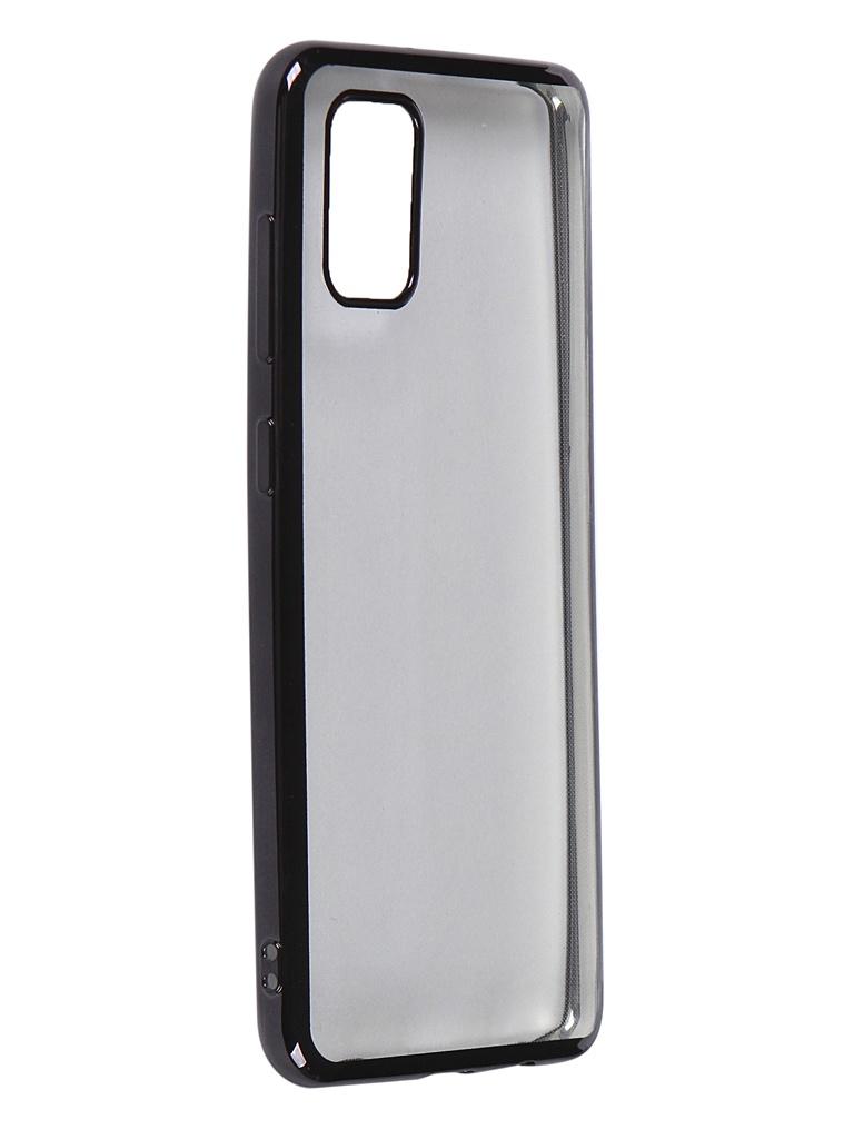 Чехол iBox для Samsung Galaxy A31 Blaze Silicone Black Frame УТ000020478