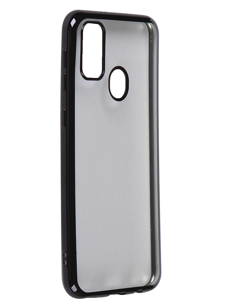 Чехол iBox для Samsung Galaxy M30S Blaze Silicone Black Frame УТ000020480