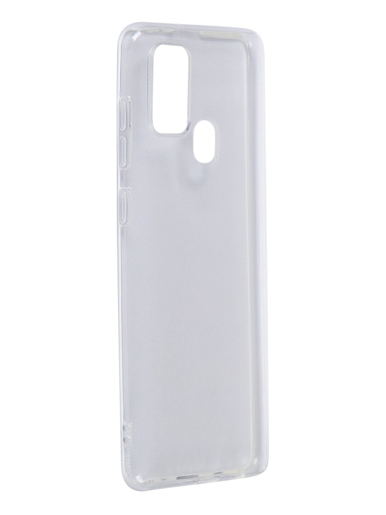 Чехол iBox для Samsung Galaxy A21S Crystal Silicone Transparent УТ000021108 аксессуар чехол samsung galaxy a7 2017 borasco silicone transparent