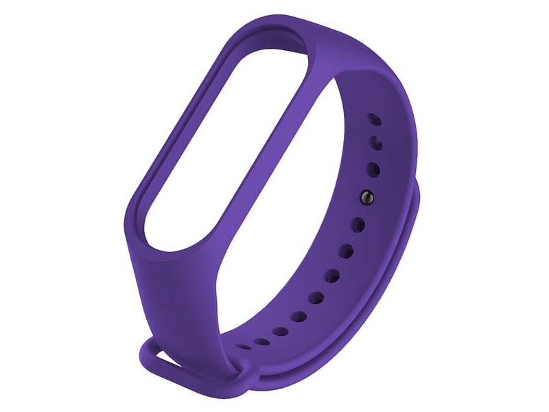 Aксессуар Ремешок Red Line для Xiaomi Mi Band 3 / 4 Silicone №7 Purple УТ000021121