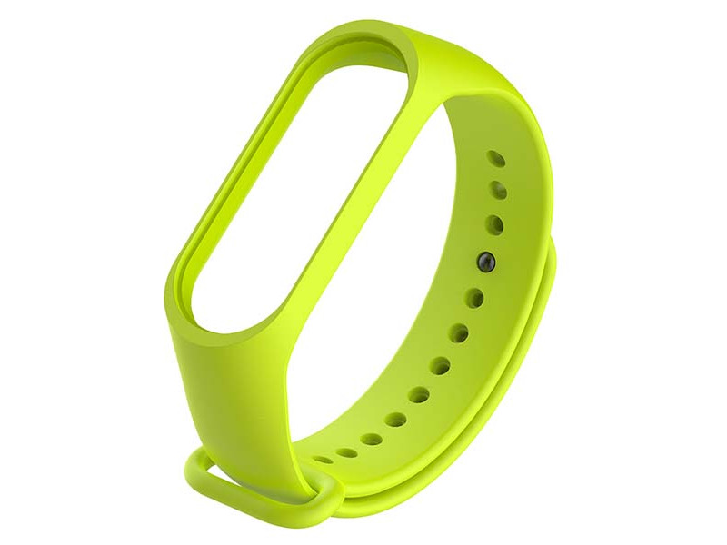 Aксессуар Ремешок Red Line для Xiaomi Mi Band 3 / 4 Silicone №12 Light Green УТ000021126