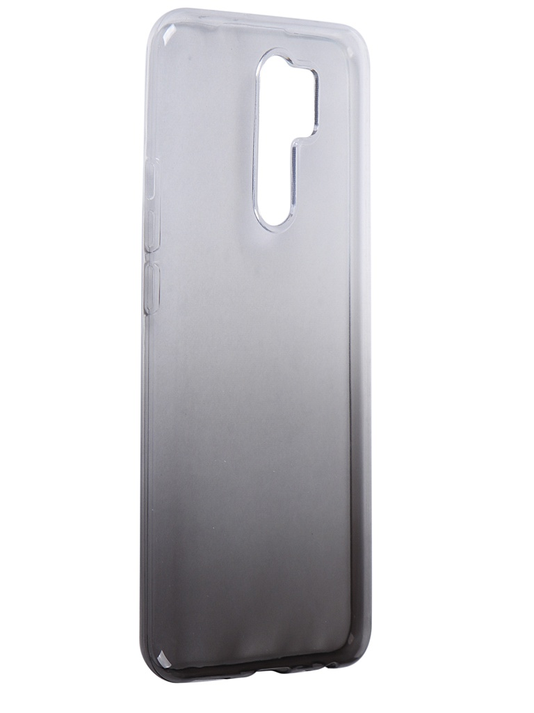 Чехол iBox для Xiaomi Redmi 9 Crystal Silicone Gradient Black УТ000021611
