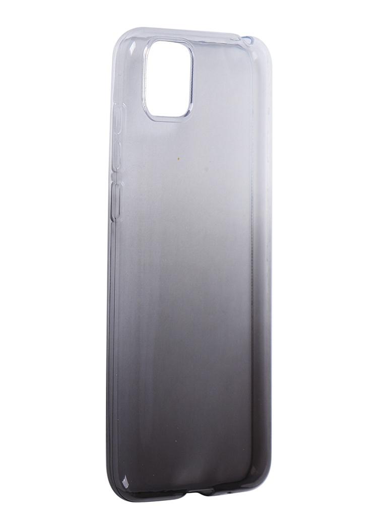 Чехол iBox для Huawei Y5p Crystal Silicone Gradient Black УТ000021609