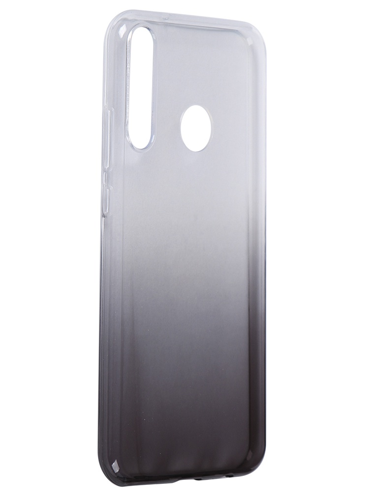 Чехол iBox для Huawei Honor 9C Crystal Silicone Gradient Black УТ000021607