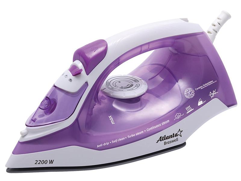 Утюг Atlanta ATH-5543 Violet весы кухонные atlanta ath 6215 красный