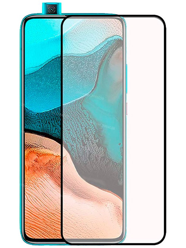 Защитный экран Red Line для Xiaomi Poco F2 Pro Full Screen Tempered Glass Glue Black УТ000021559