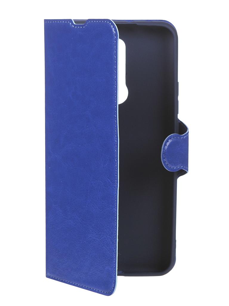 Чехол Red Line для Xiaomi Redmi 9 Book Type Blue УТ000020549