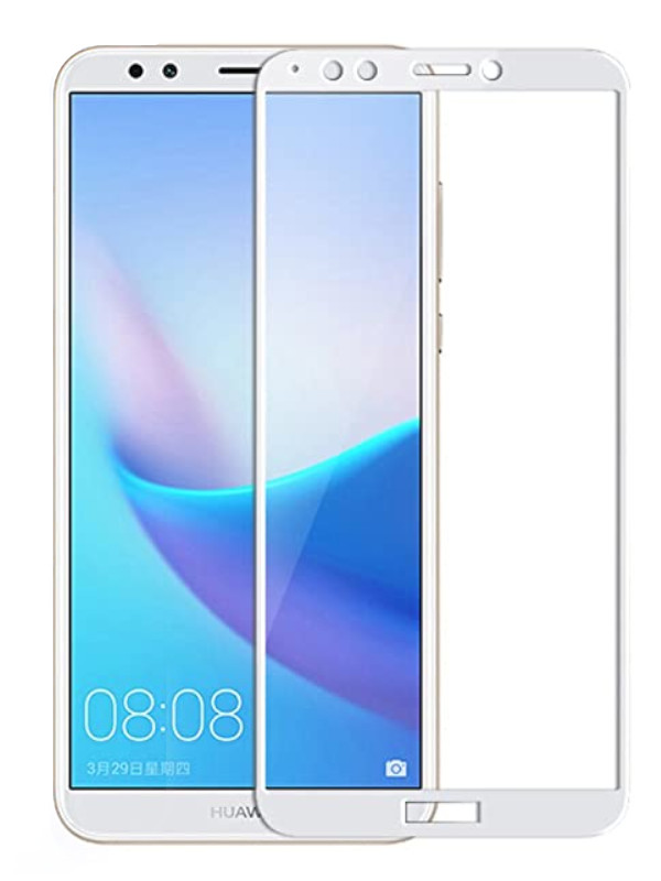 Защитный экран Red Line для Huawei Honor 7A Pro / 7C Y6 2018 Prime Full Screen Tempered Glass Glue White УТ000021754