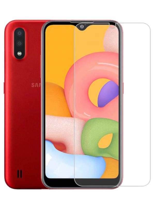 Защитное стекло mObility для Samsung Galaxy A01 Core УТ000021574