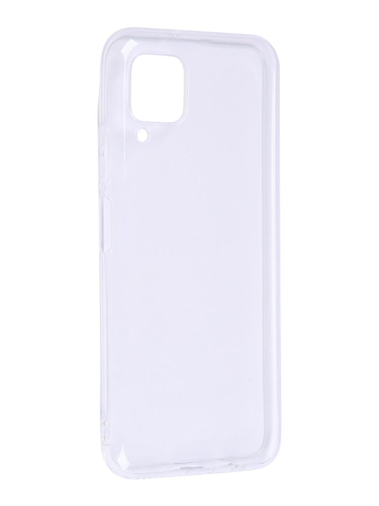 Чехол Zibelino для Huawei P40 Lite / Nova 6SE Ultra Thin Case Transparent ZUTC-HUA-P40LT-WHT