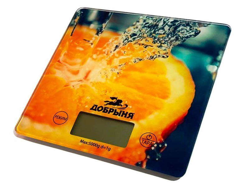 Весы Добрыня DO-3015 Апельсин