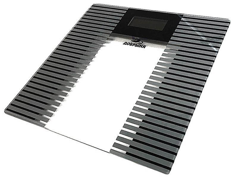 Весы напольные Добрыня DO-3014