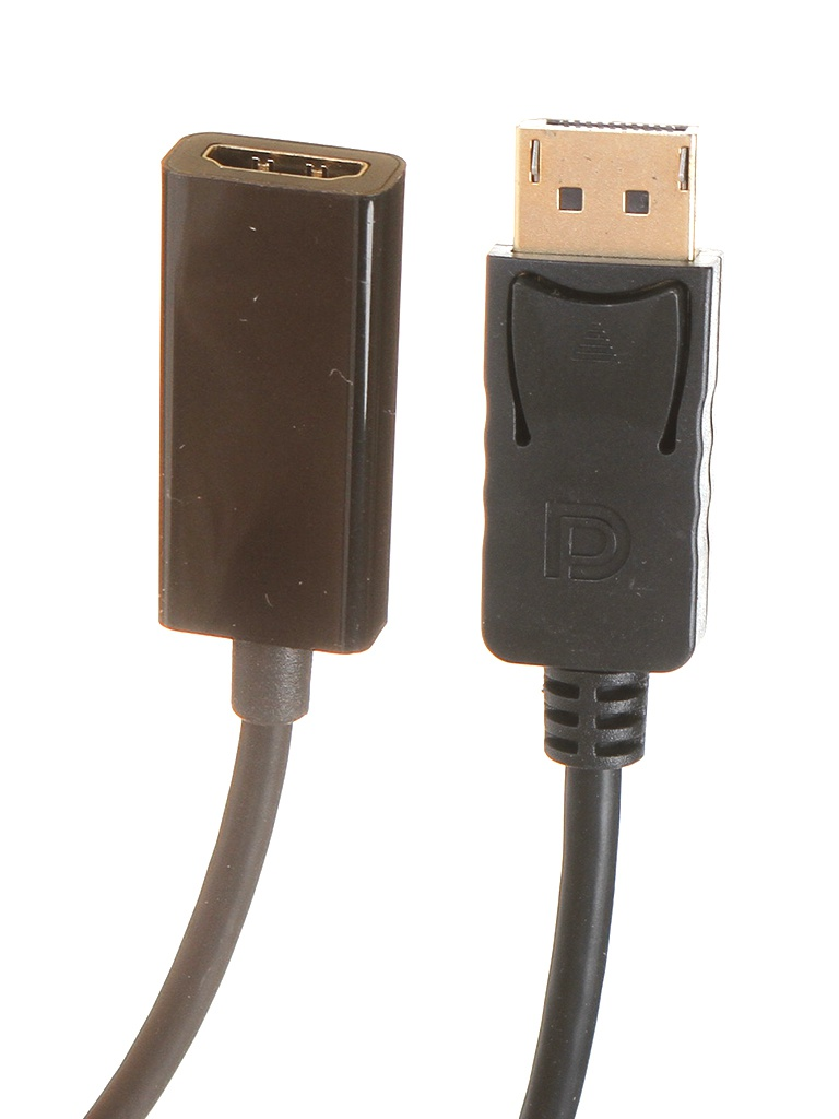 Аксессуар ExeGate DisplayPort/20M - HDMI/19F 0.15m EX284921RUS