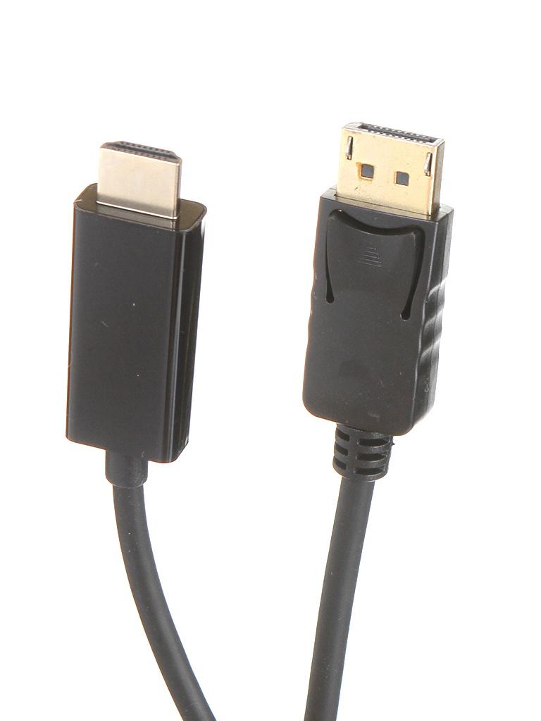 Аксессуар ExeGate DisplayPort/20M - HDMI/19F 3m EX284917RUS аксессуар