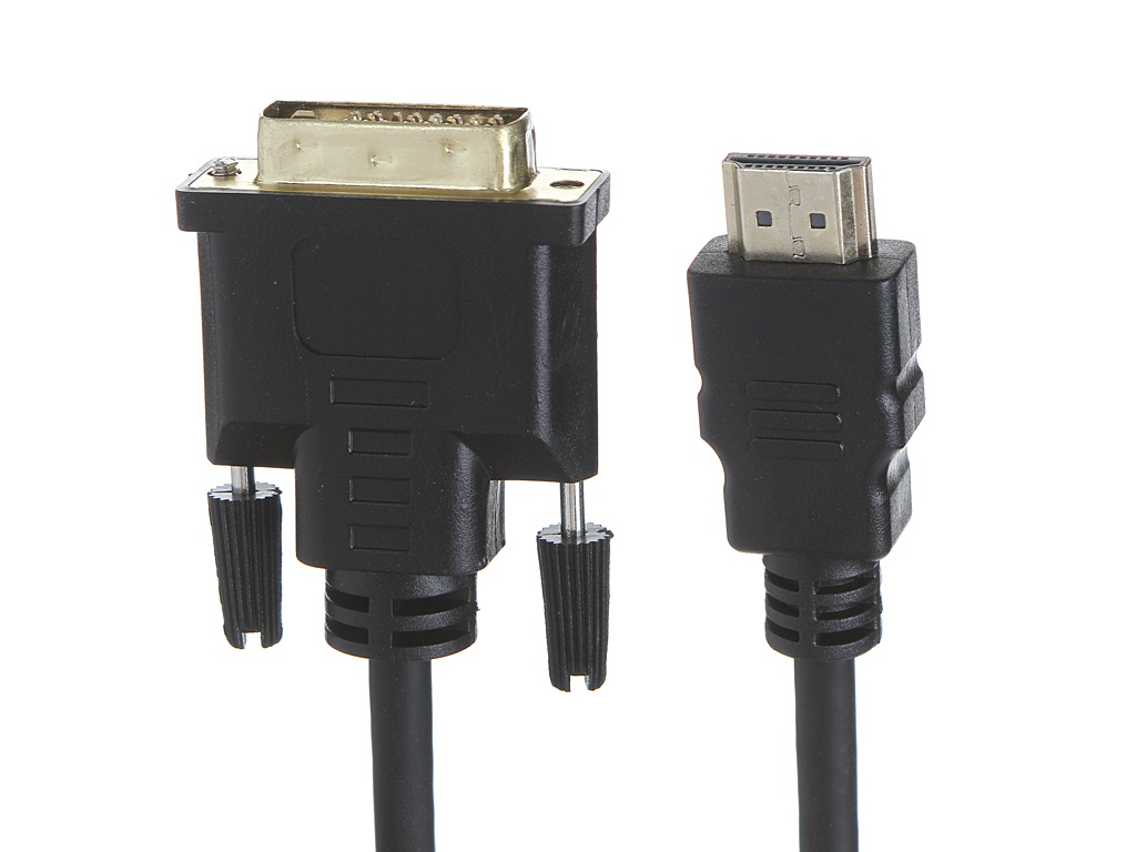 Аксессуар ExeGate HDMI/19M - DVI/25M 3m EX284907RUS