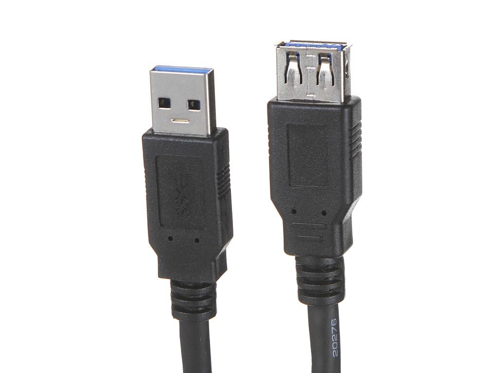 Аксессуар ExeGate USB 3.0 Am - Af 1.8m EX-CC-USB3-AMAF-1.8 аксессуар