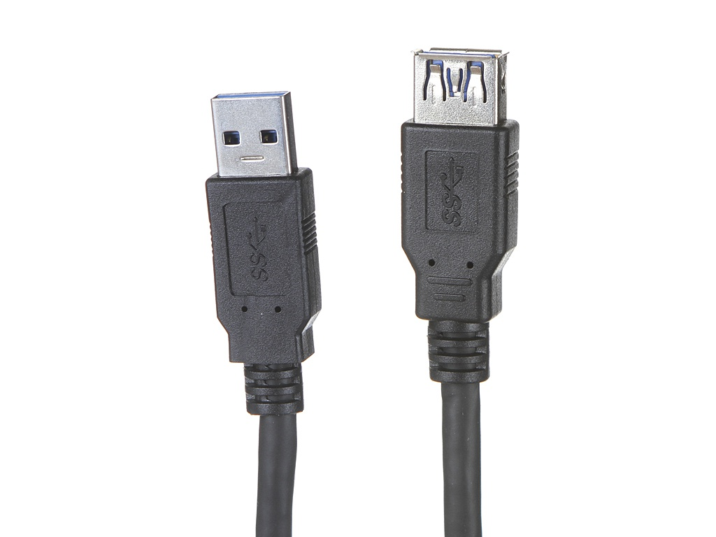 Аксессуар ExeGate USB 3.0 Am - Af 3m EX-CC-USB3-AMAF-3.0