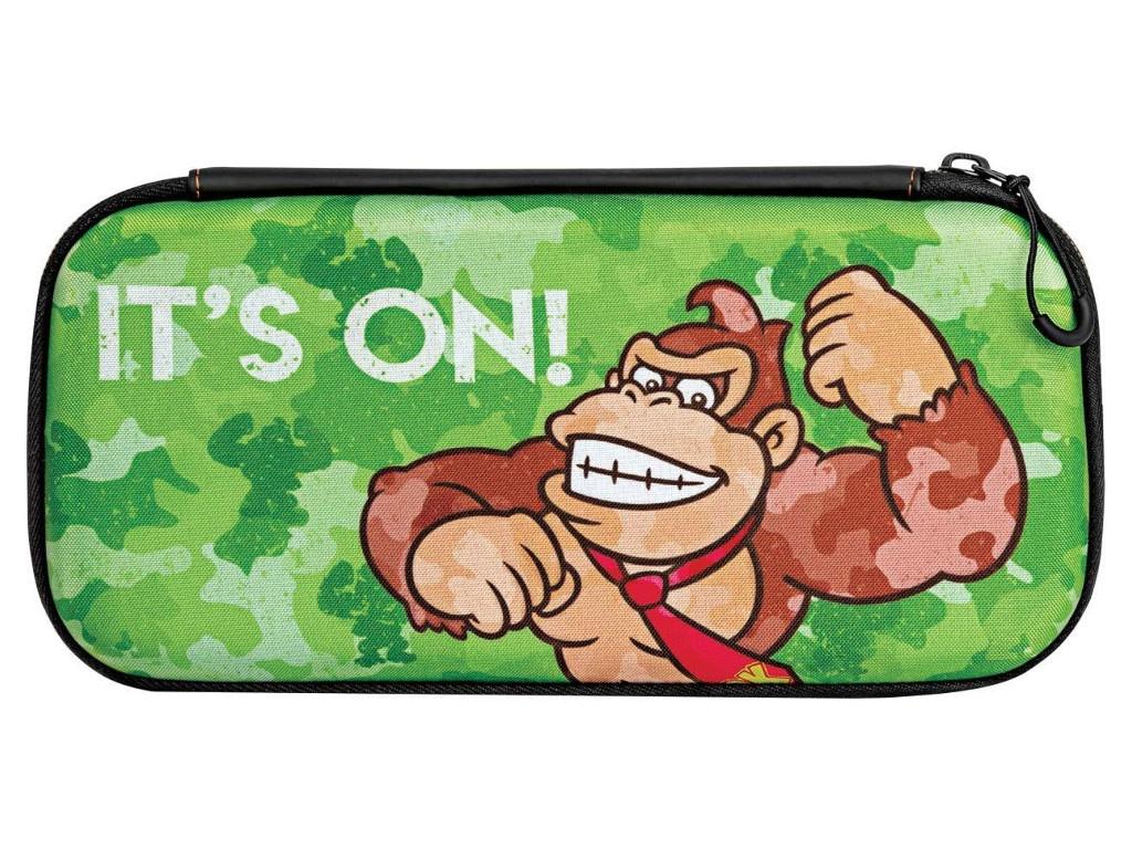 Дорожный чехол Nintendo Switch Slim Donkey Kong Camo 500-103-EU