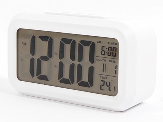 Часы Сигнал electronics EC-137W White