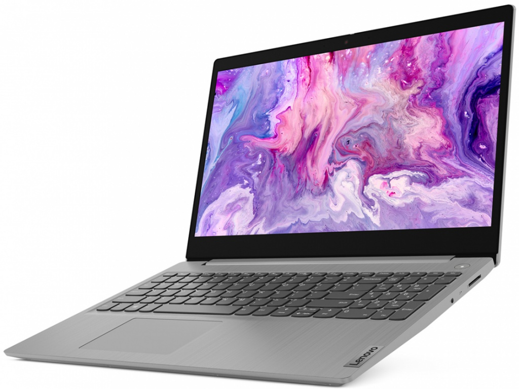 Ноутбук Lenovo IdeaPad 3-15 81W40033RK (AMD Ryzen 5 4500U 2.3GHz/4096Mb/256Gb SSD/AMD Radeon Graphics/Wi-Fi/Bluetooth/Cam/15.6/1920x1080/No OS)