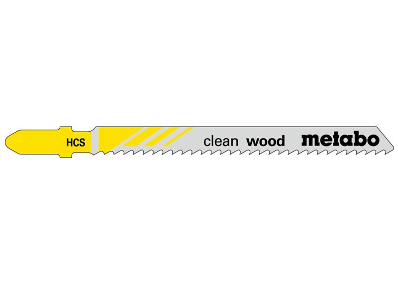 Пилка Metabo T101B HCS по дереву 25шт 623691000