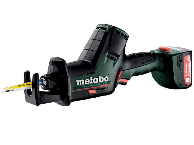 Фото - Пила Metabo PowerMaxx SSE 12 BL (602322500) пила сабельная metabo sse 1100 606177500