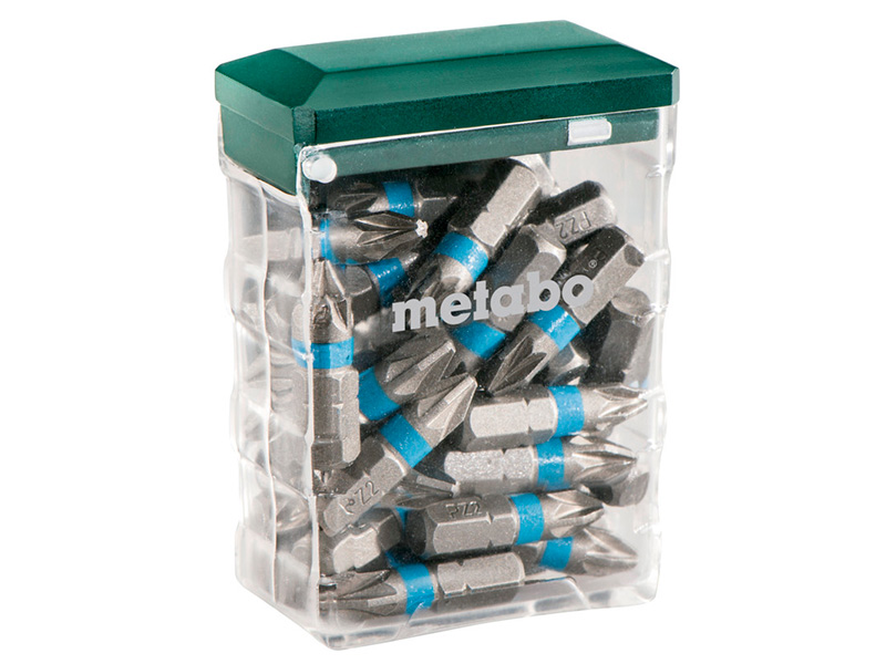 Набор бит Metabo PZ 25штук 626711000 набор бит metabo 630454000 20шт