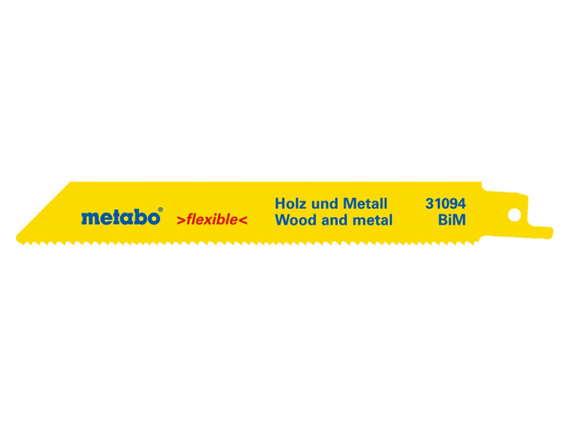 Полотно Metabo S922VF 150x1.8-2.6mm по дереву 2шт 631094000