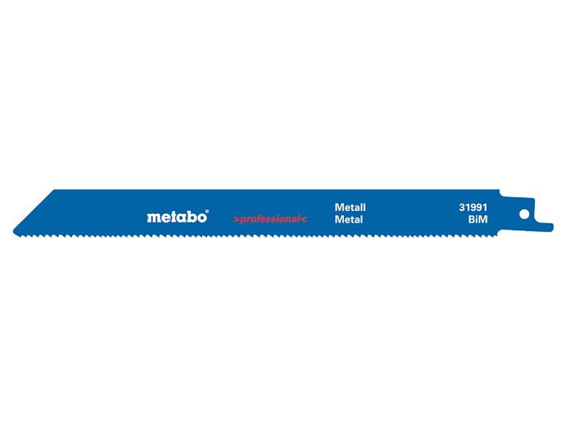 Полотно Metabo S922BF 150x1.8mm по металлу 2шт 631093000