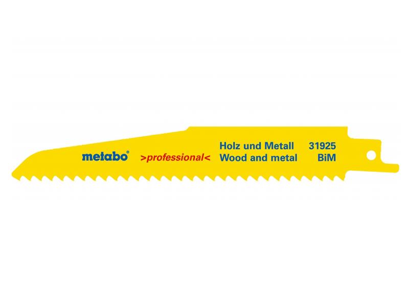 Полотно Metabo S610DF 150mm по дереву 5шт 631925000