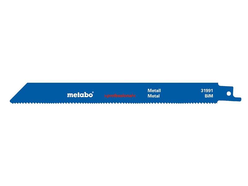 Полотно Metabo S1025VF 200x1.25/1.8-2.6mm по металлу 2шт 631991000