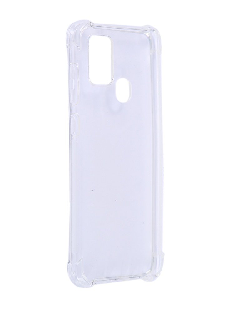 Чехол Brosco для Galaxy A21 Silicone Transparent SS-A21S-HARD-TPU-TRANSPARENT