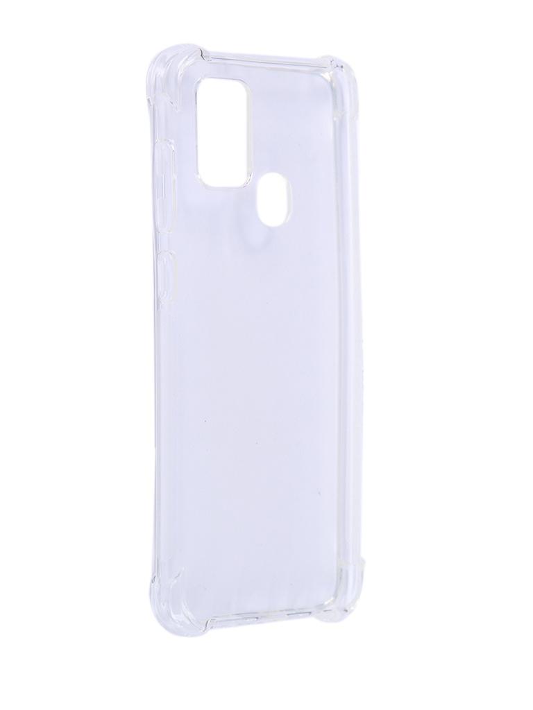Чехол Brosco для Galaxy A21 Silicone Transparent SS-A21S-HARD-TPU-TRANSPARENT аксессуар чехол asus zenfone 4 max 5 5 zc554kl brosco silicone transparent as zf4m5 5 tpu transparent