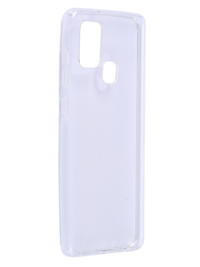Чехол Brosco для Galaxy A21S Silicone Transparent SS-A21S-TPU-TRANSPARENT