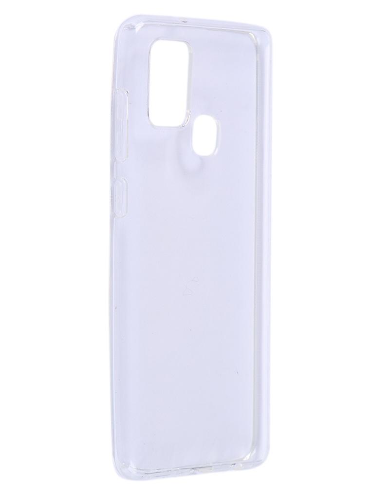 Чехол Brosco для Galaxy A21S Silicone Transparent SS-A21S-TPU-TRANSPARENT аксессуар чехол asus zenfone 4 max 5 5 zc554kl brosco silicone transparent as zf4m5 5 tpu transparent