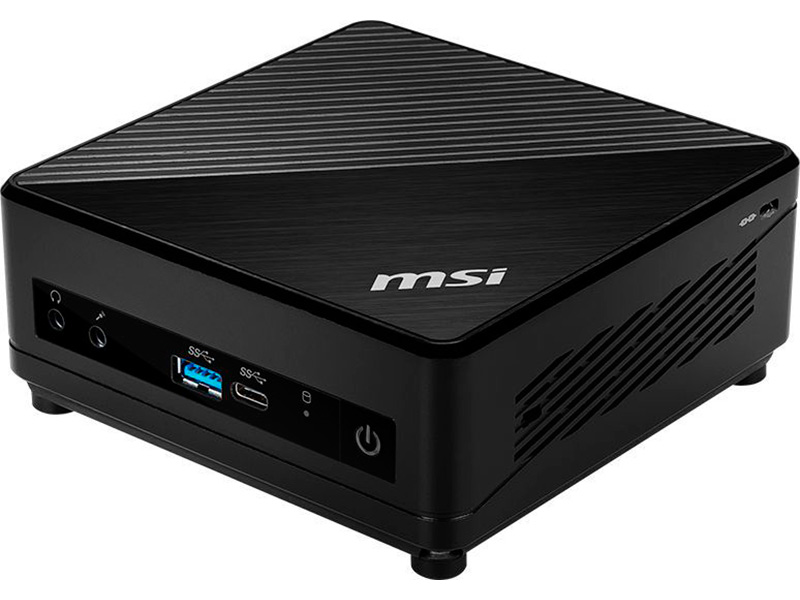 Настольный компьютер MSI Cubi 5 10M-058RU 9S6-B18311-058 (Intel Core i5-10210U 1.6 GHz/8192Mb/256Gb SSD/Intel UHD Graphics/Wi-Fi/Bluetooth/DOS)