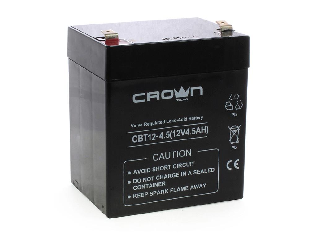 Аккумулятор для ИБП Crown CBT-12-4.5