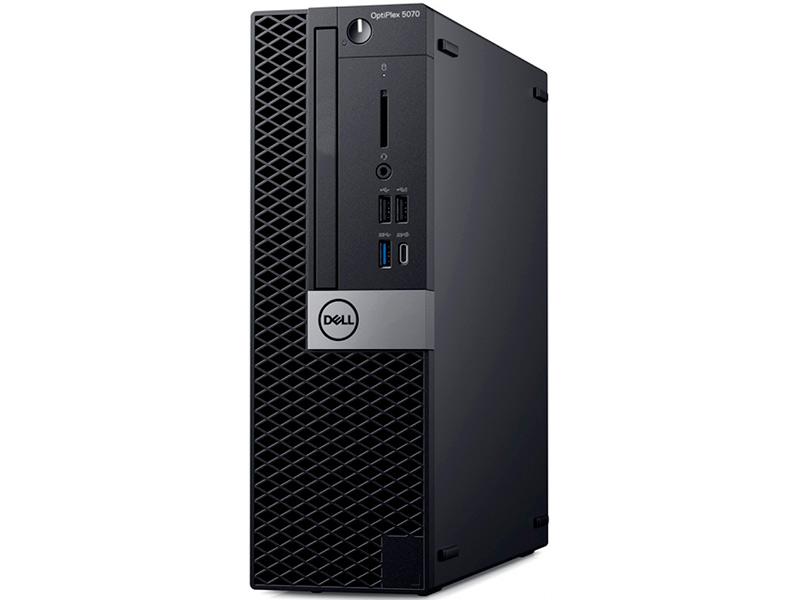 Настольный компьютер Dell Optiplex 5070 SFF 5070-4821 (Intel Core i7 9700 3.0GHz/8192/512Gb SSD/Intel UHD Graphics 630/DVDRW/Windows 10 Pro 64-bit) настольный компьютер dell optiplex 5070 sff 5070 1984 intel core i5 9500 3 0ghz 8192mb 256gb ssd dvd rw intel hd graphics linux