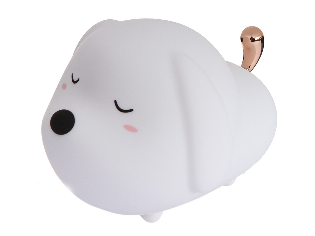 Светильник Baseus Cute Series Doggie Silicone Night Light White DGAM-B02