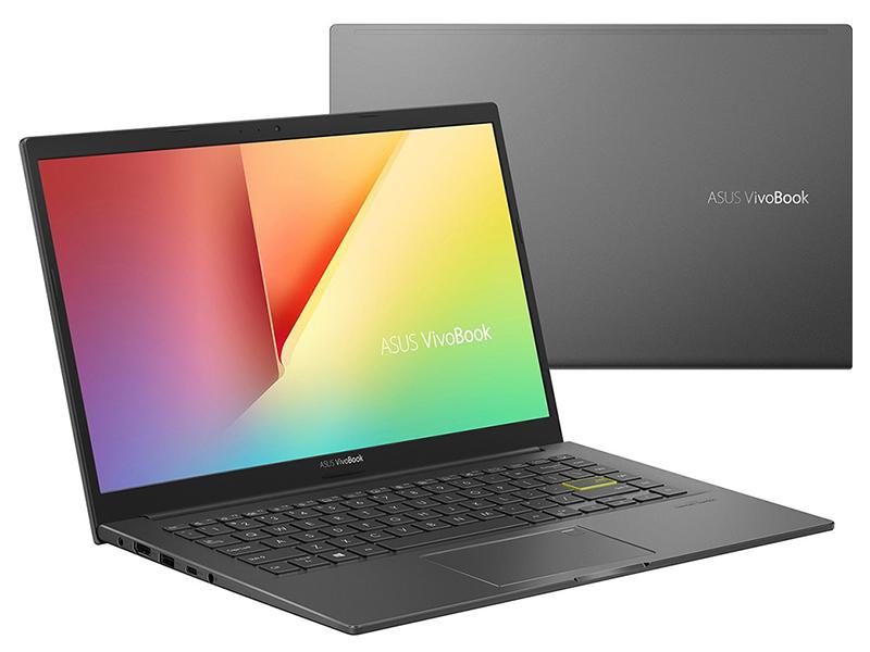 Ноутбук ASUS K413FQ-EB033T 90NB0R6F-M00390 (Intel Core i5-10210U 1.6GHz/8192Mb/512Gb SSD/No ODD/nVidia GeForce MX350 2048Mb/Wi-Fi/14.0/1920x1080/Windows 10 64-bit)