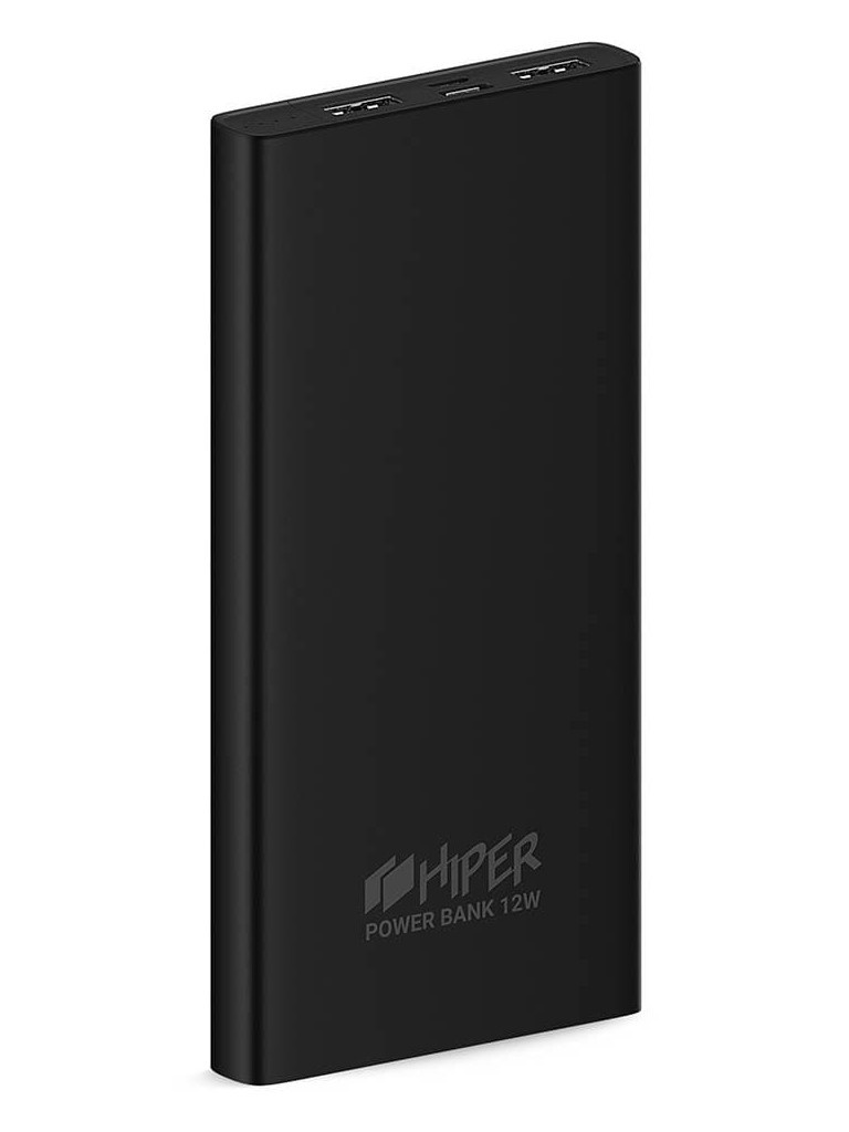 Внешний аккумулятор Hiper Metal10K 10000mAh Black