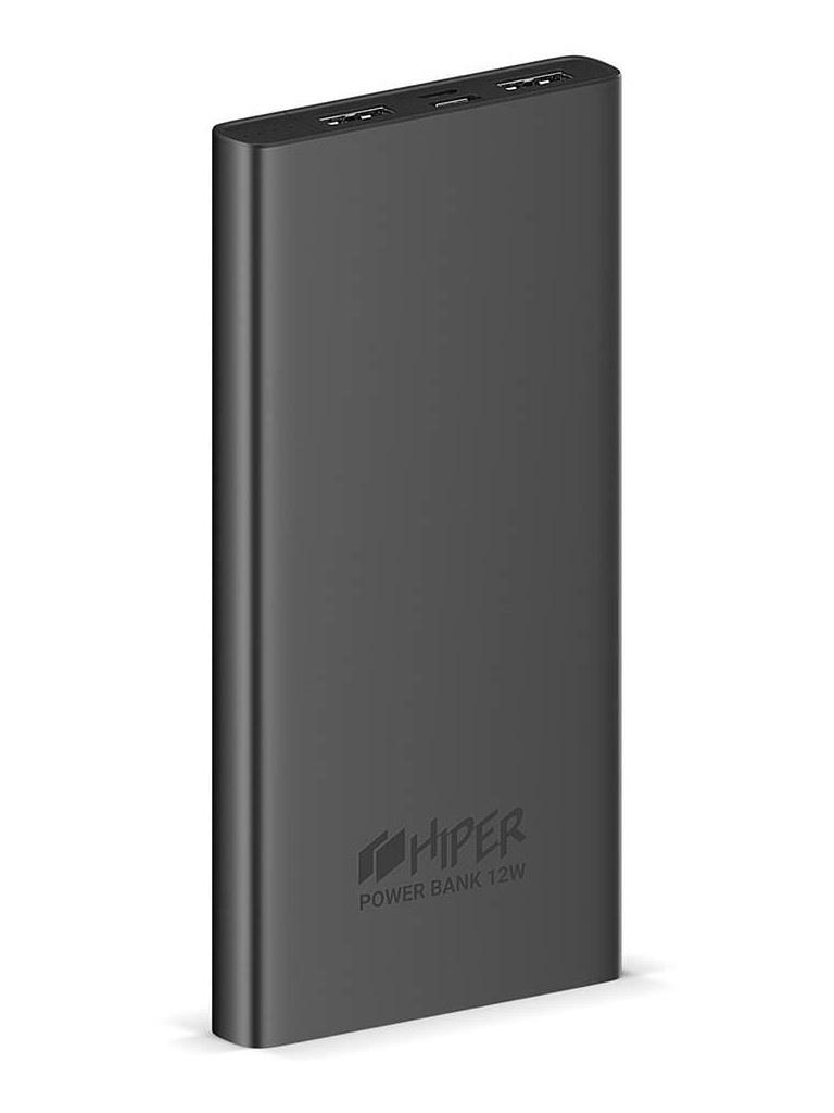 Внешний аккумулятор Hiper Metal10K 10000mAh Space Gray