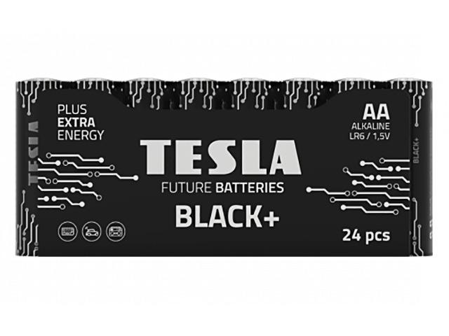 Батарейка AA - Tesla Black+ (24 штуки)