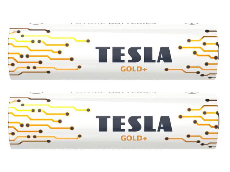 Батарейка C - Tesla Gold+ (2 штуки)