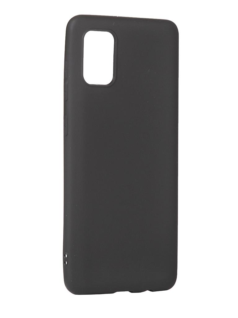 Чехол Innovation для Samsung Galaxy A31 Matt Black 17807