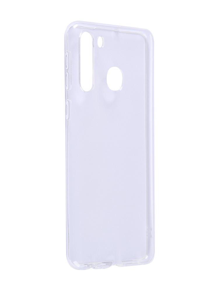 Чехол Innovation для Samsung A21 Transparent 17811