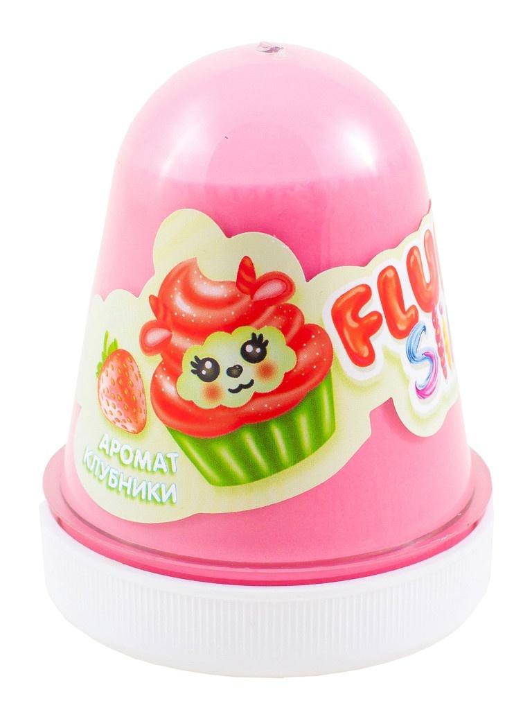 Слайм KiKi Monsters Slime Fluffy Клубника Red FL010